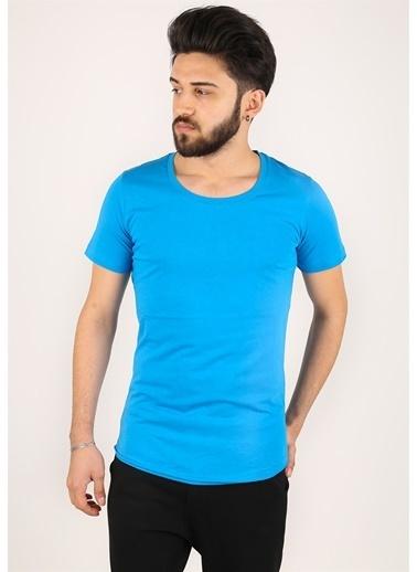 Madmext Tişört Mavi
